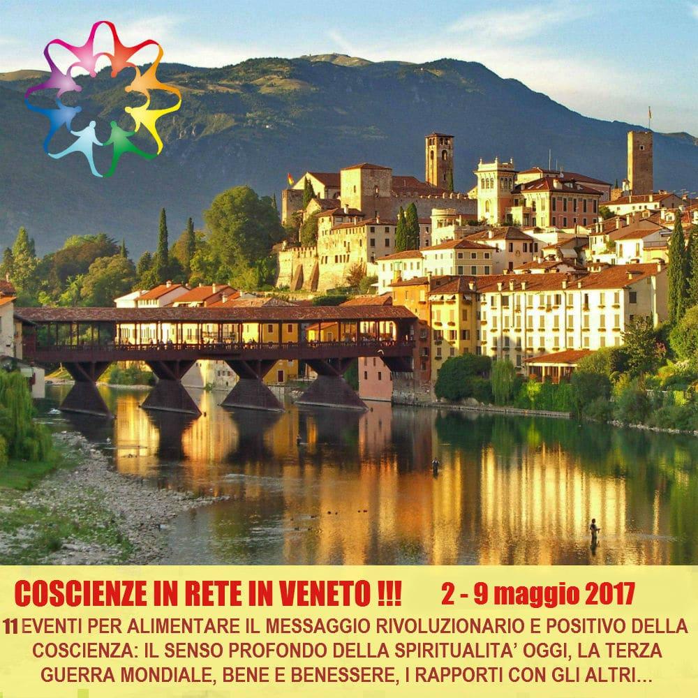 Una Serie di Eventi di Coscienze in Rete in Veneto – maggio 2017