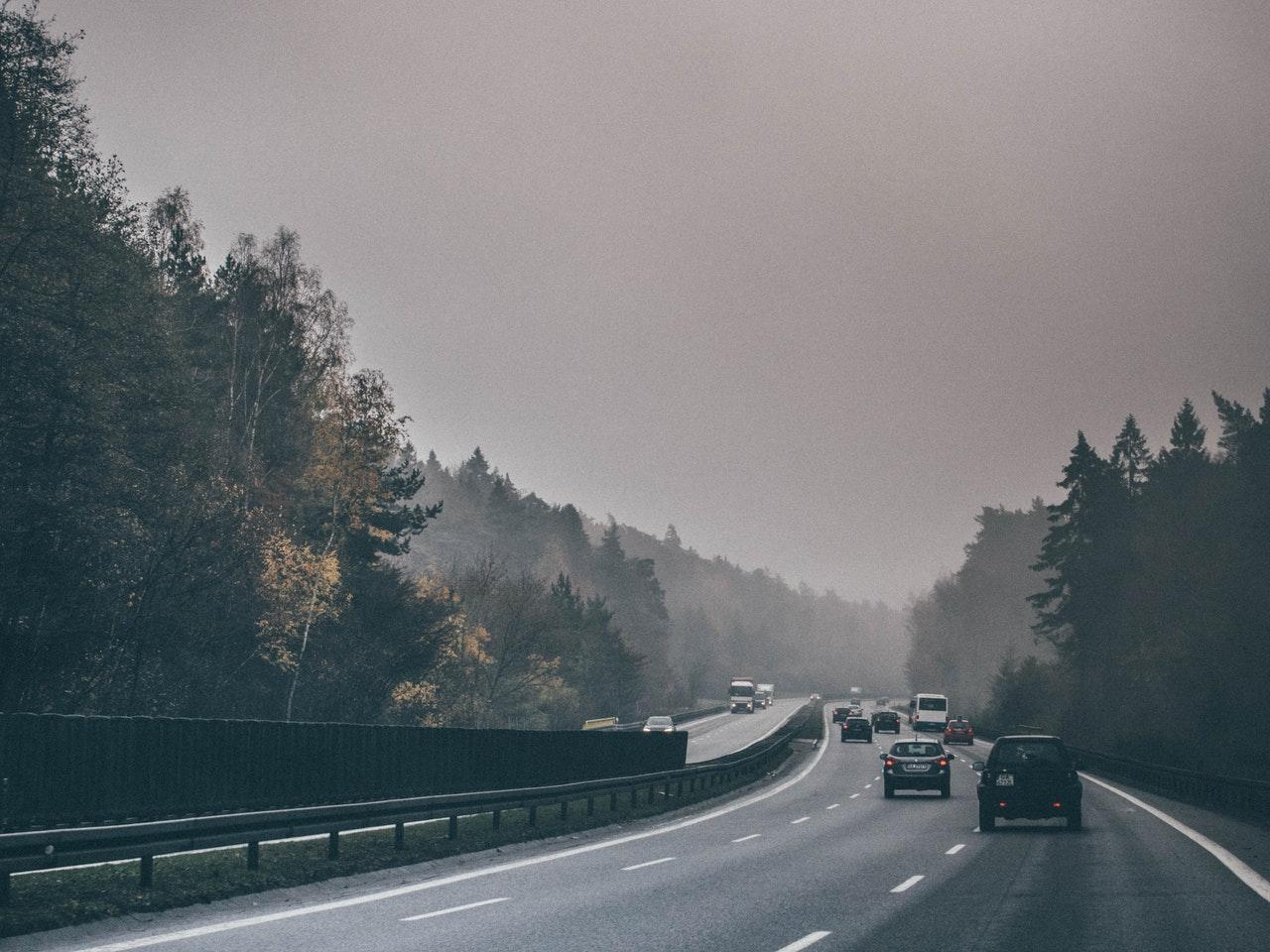 Un'autostrada pubblica