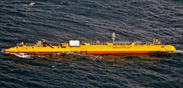Scozia: l'innovativa turbina galleggiante a energia mareomotrice genera 3 GWh di energia nel suo primo anno di test