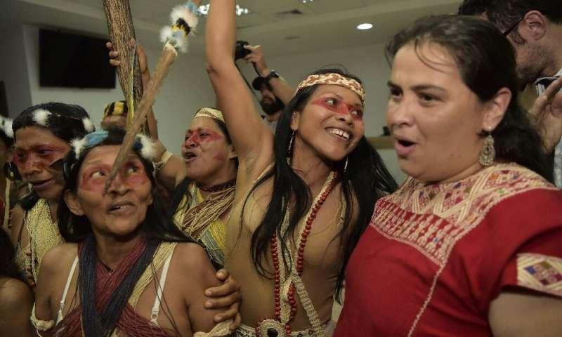 La Tribù Waorani vince la prima battaglia contro i petrolieri