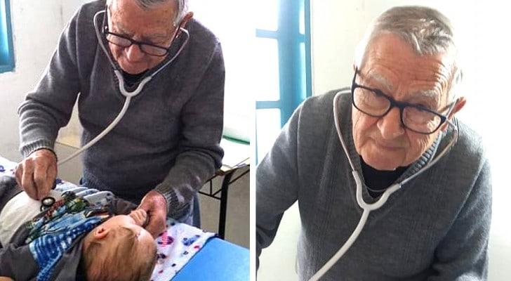 Questo pediatra ha 92 anni e visita gratis i bambini bisognosi