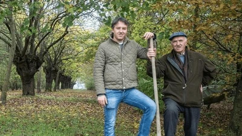 Giancarlo pianta 11mila alberi
