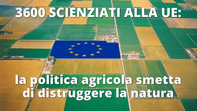 3600 scienziati alla UE