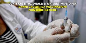 risarcimento vaccini non obbligatori