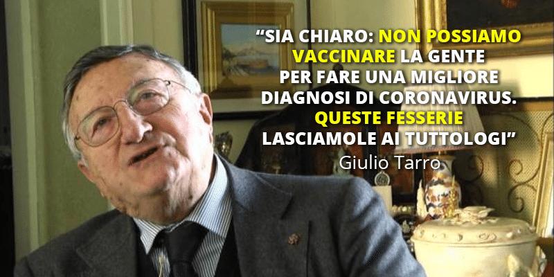Tarro vaccino per tutti